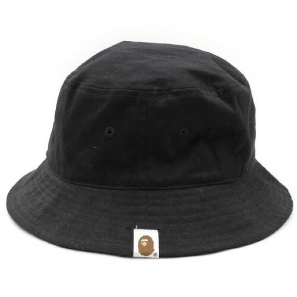 Bape Other - Bape Black Bucket Hat be640aac965